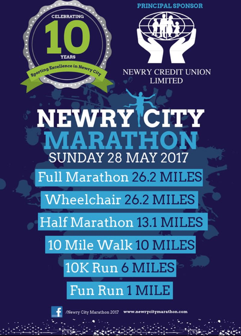 Newry City Marathon 2017